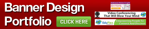 banner design port button Banner Ads